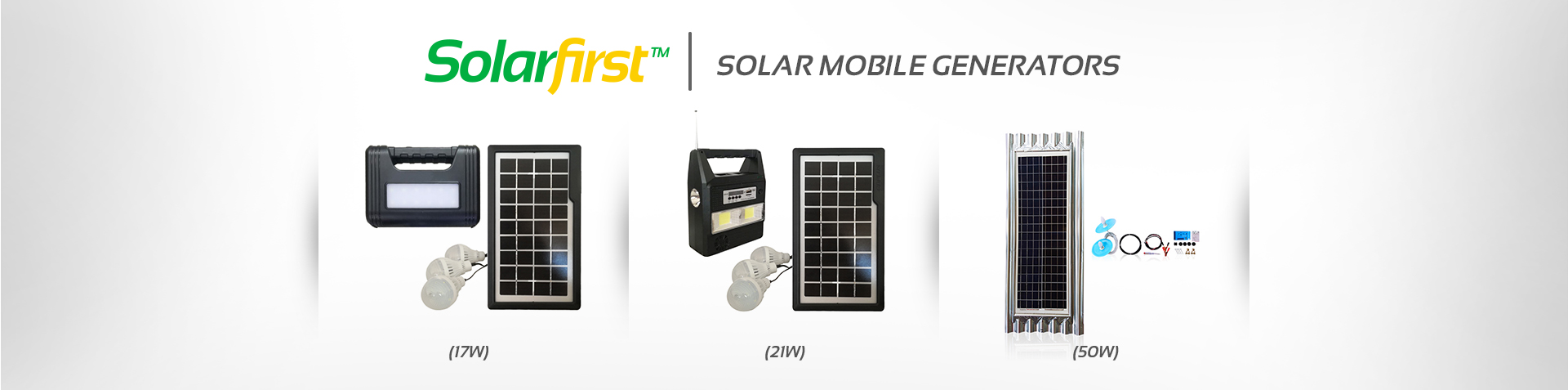 Solar Mobile Generators